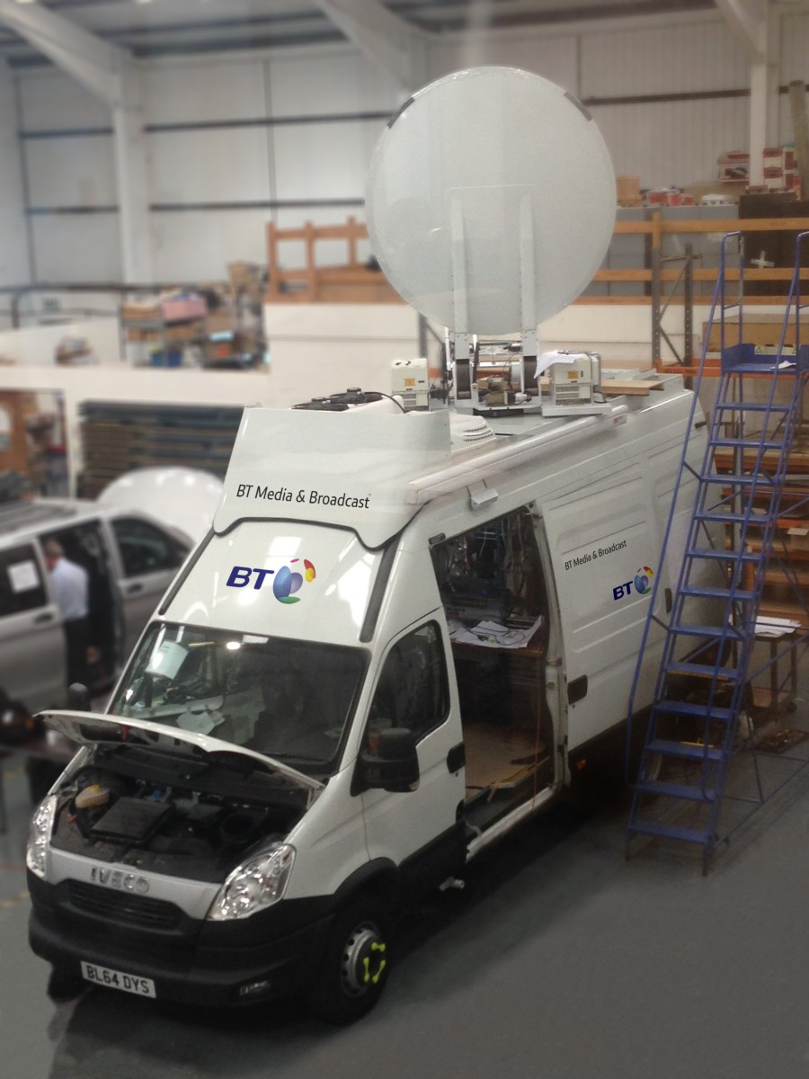 Bt To Unveil Uhd Outside Broadcasting Links Truck