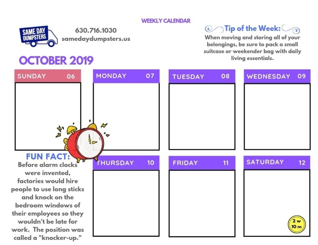 Calendar News Last Week | Month Calendar Printable