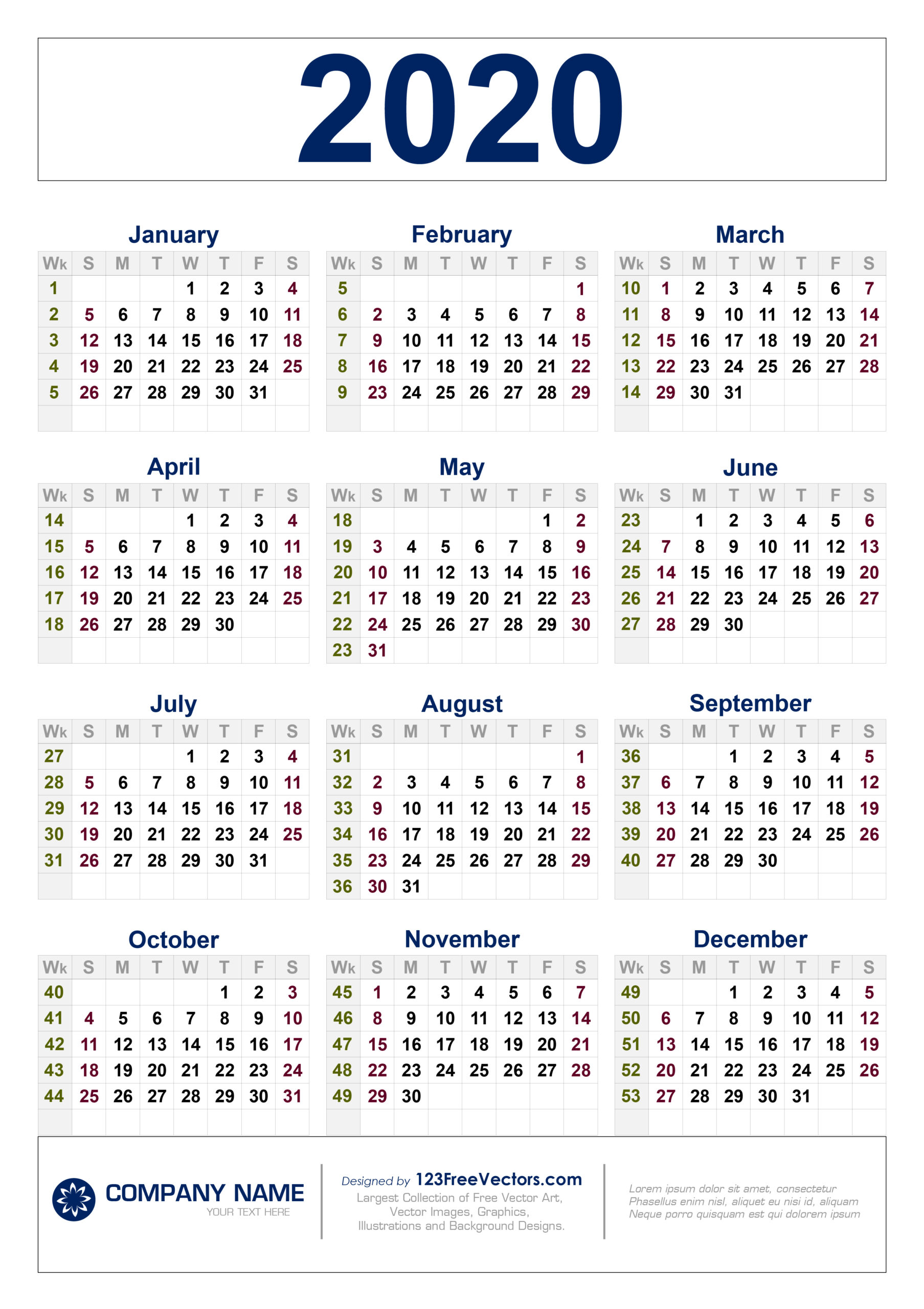 Calendar Week 10 2020 | Calendar Printables Free Templates