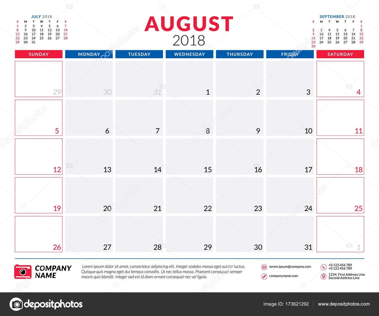 Collect Blank Calendar 6 Weeks Start On Sunday ⋆ The Best