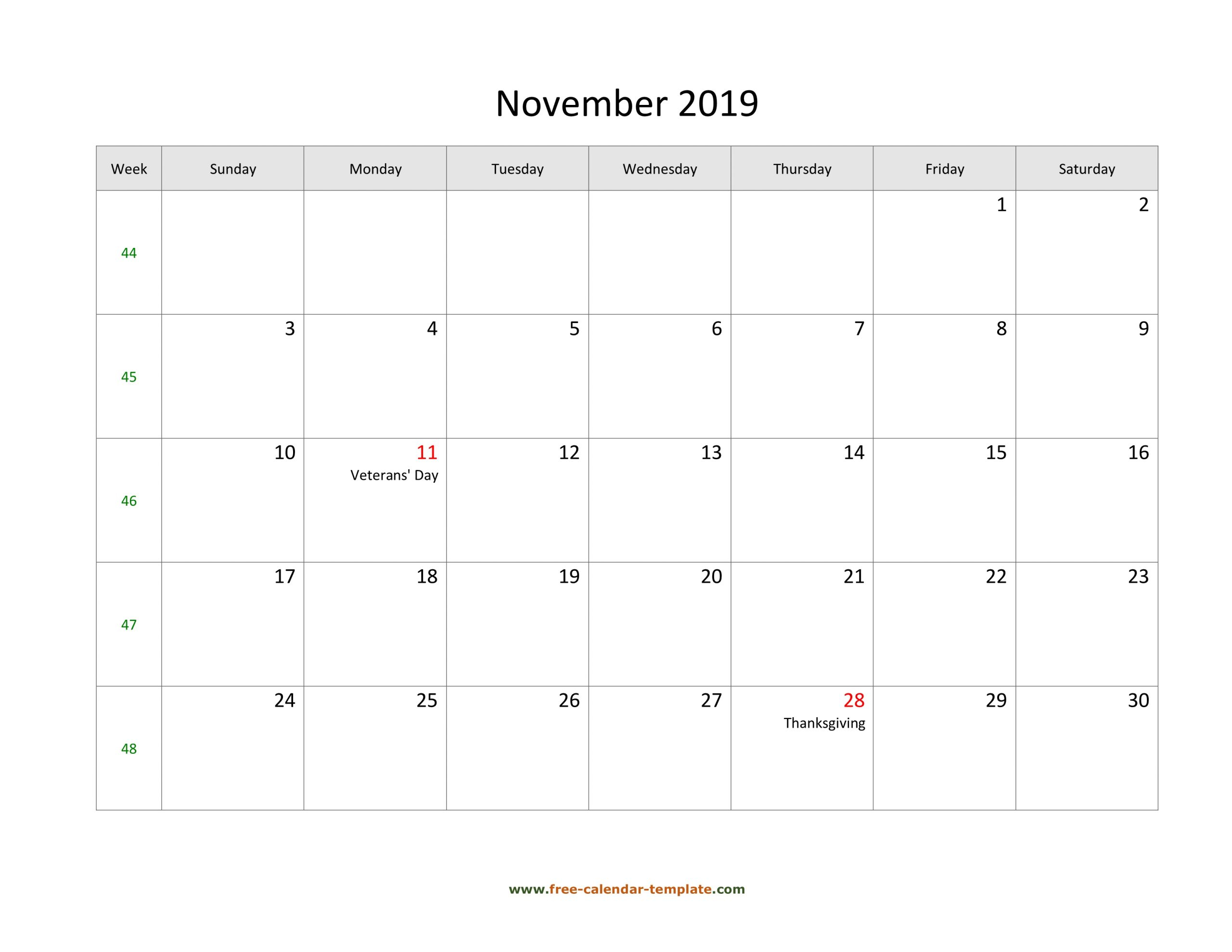 Collect Large Calendar Monthly Printable | Calendar
