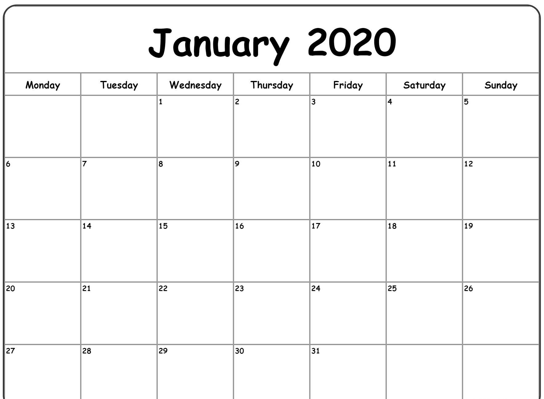 Collect Printable Calendar 2020 Vertex | Calendar