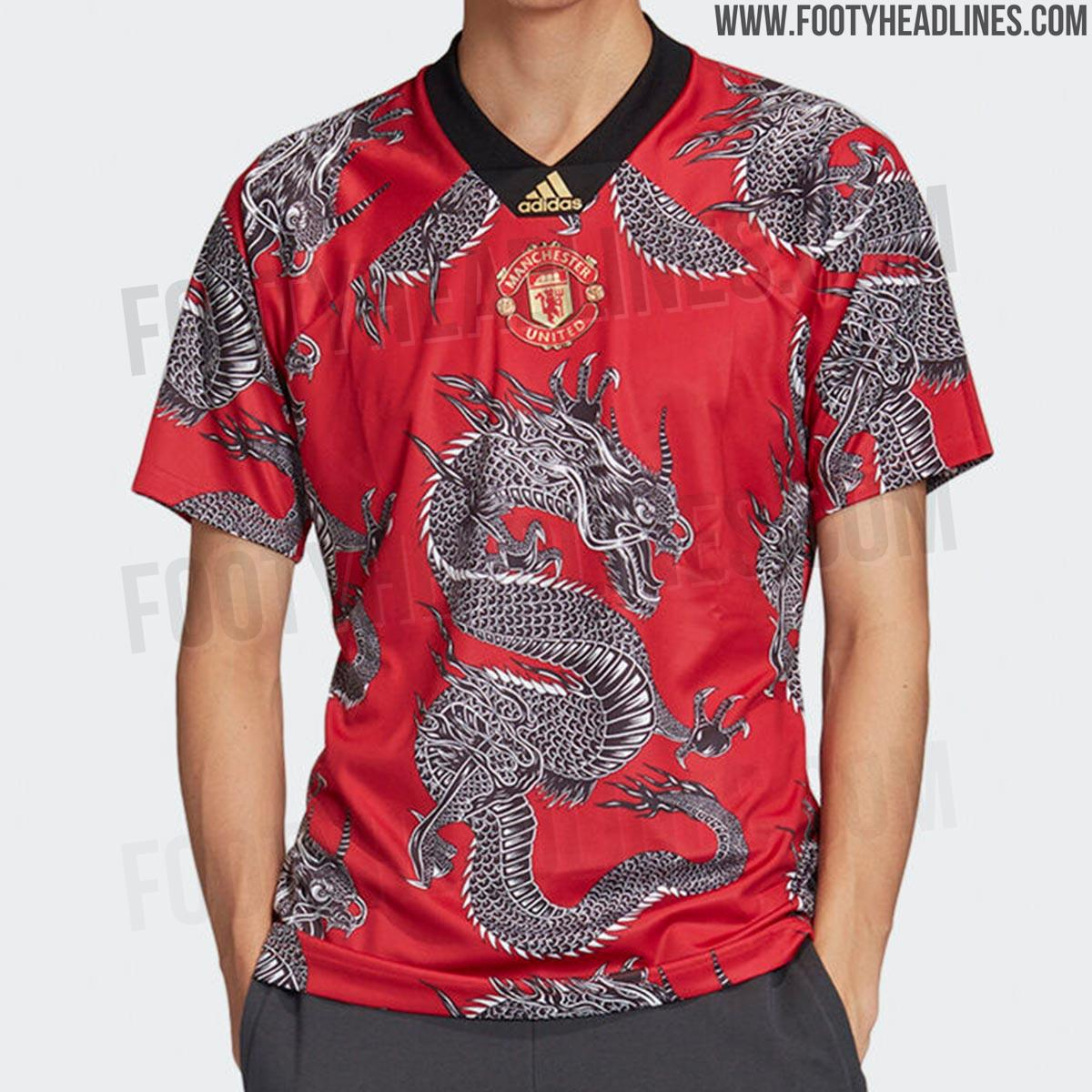 """Crazy """"Dragon"""" Adidas Manchester United 2020 Chinese New"""