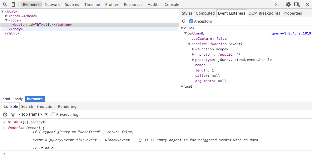 Debugging Jquery With Chrome'S Developer Tools