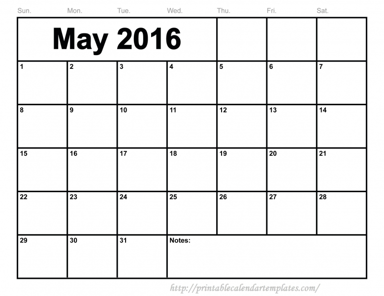 Download 2016 Calendars You Can Edit :-Free Calendar Template