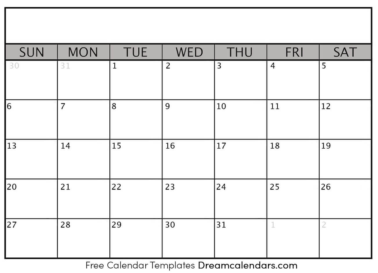 Dream Calendars - Make Your Calendar Template Blog