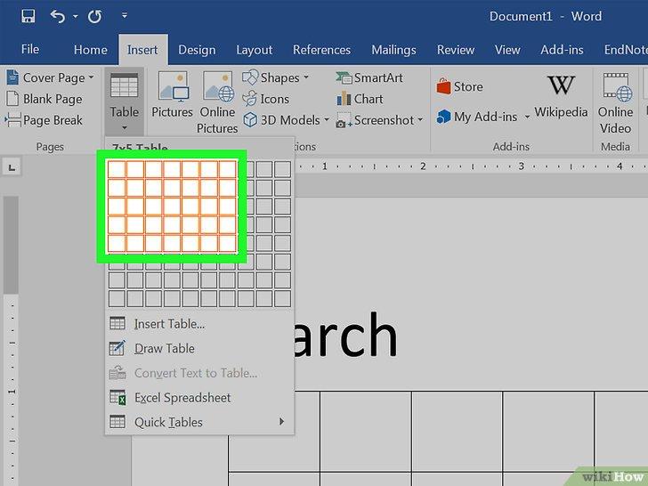 Een Kalender Maken In Word - Wikihow