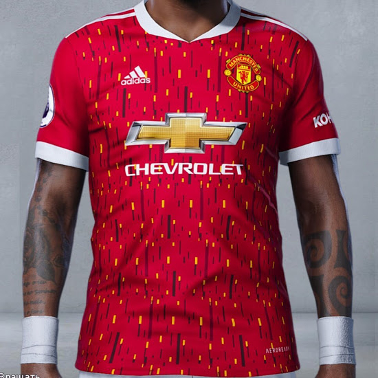 Fake Alert: This Is Not The Manchester United 20-21 Home