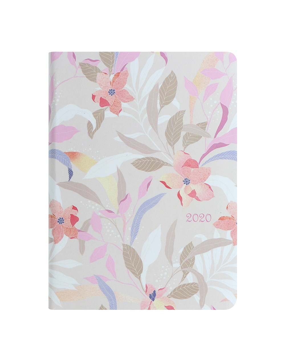 Flexi Pattern Botanical A5 Diary 2020 - Sharri Leather
