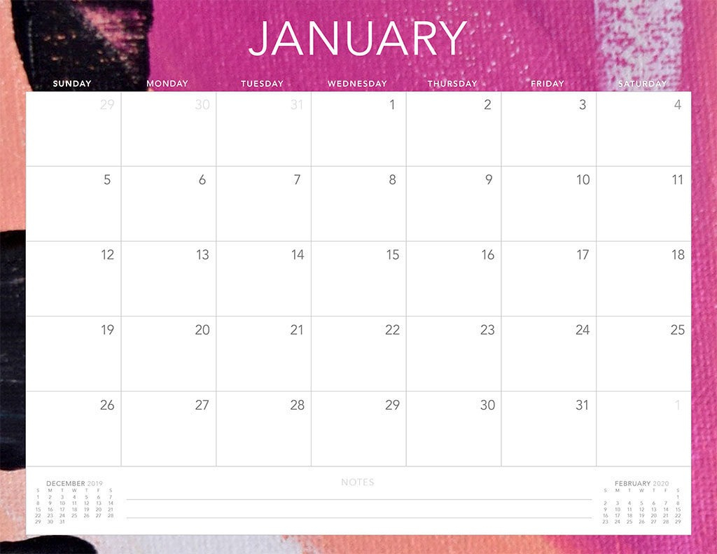 Free Printable 2020 Monthly Calendar Imom | Monthly