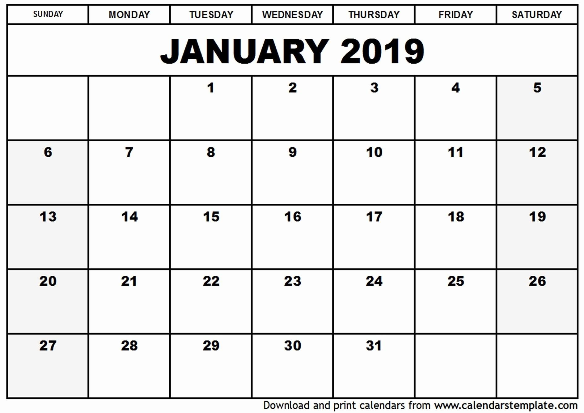 Free Printable Calendar Labs 2019 | Printable Calendar 2020