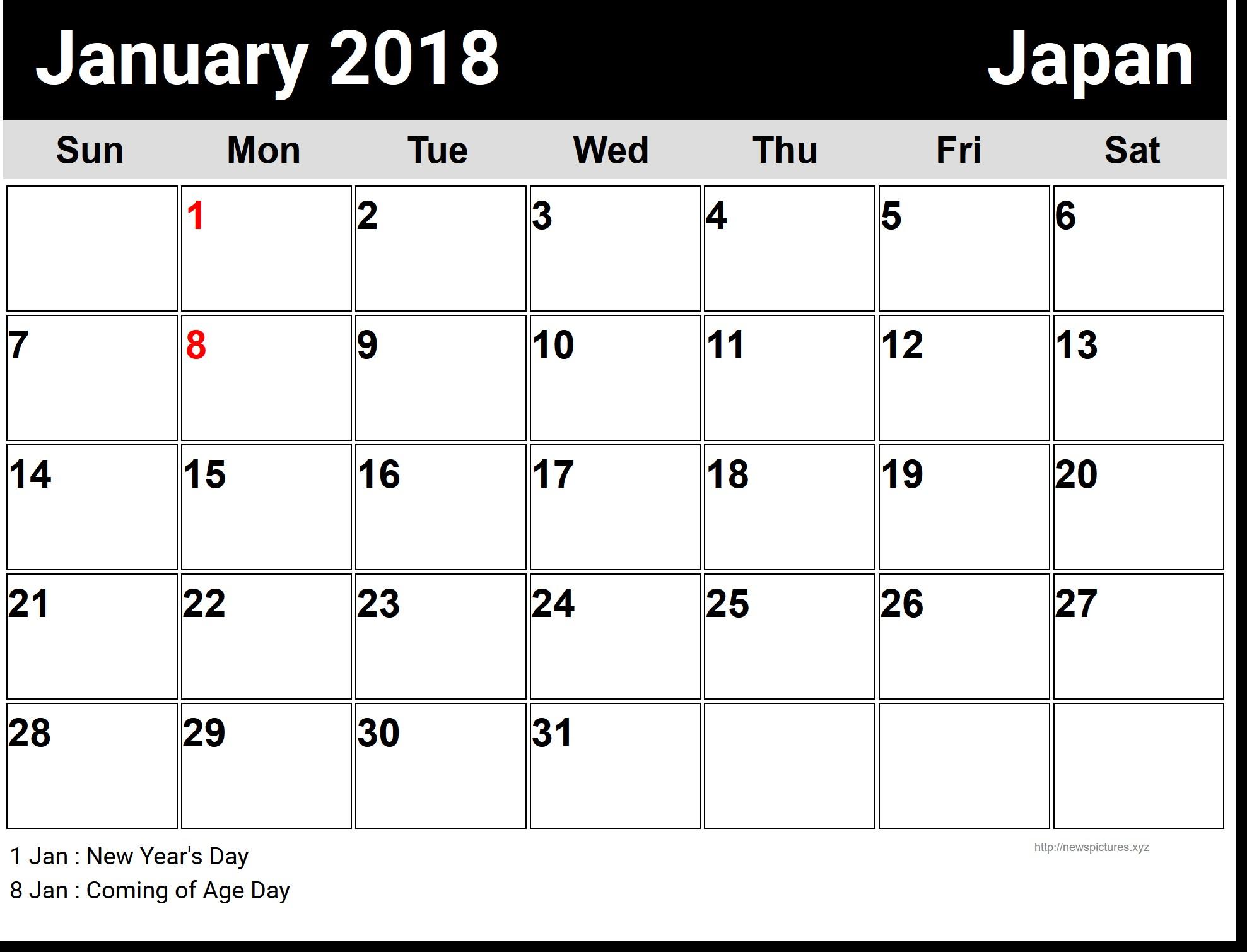Free Printable Calendar With Large Boxes | Printable