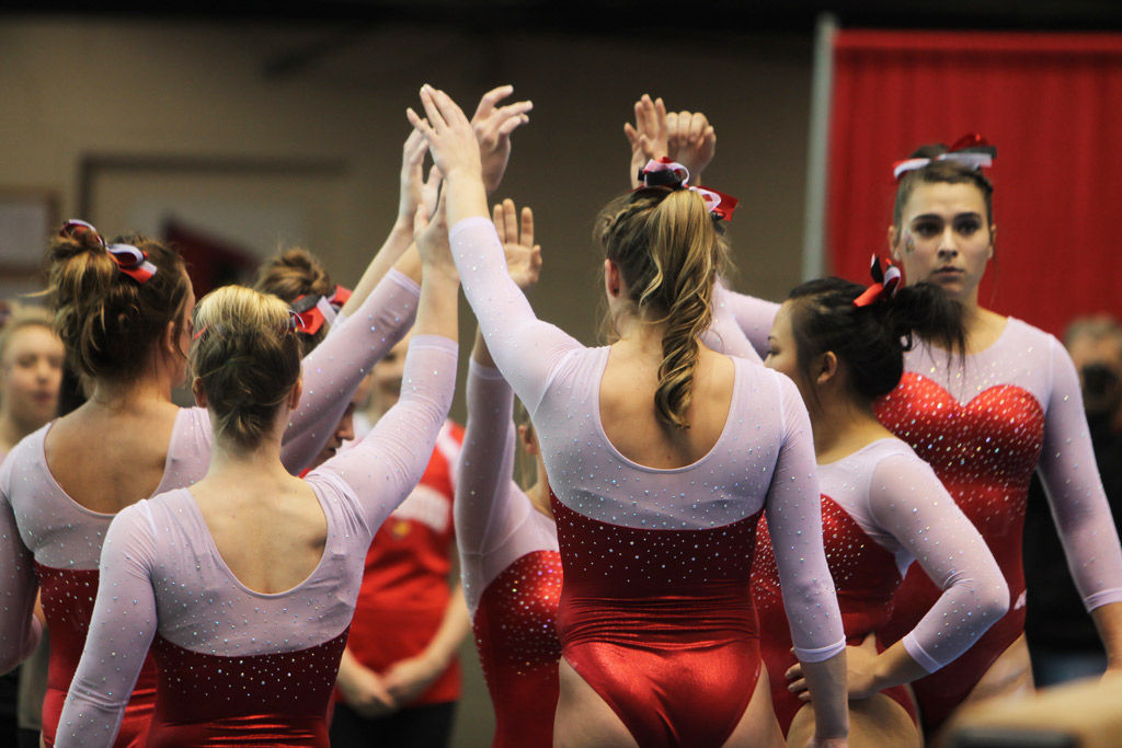 Gymnastics Squeezes Past Southeast Missouri State | Sports