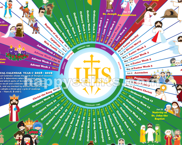 Happy Saints: Happy Saints Liturgical Calendar