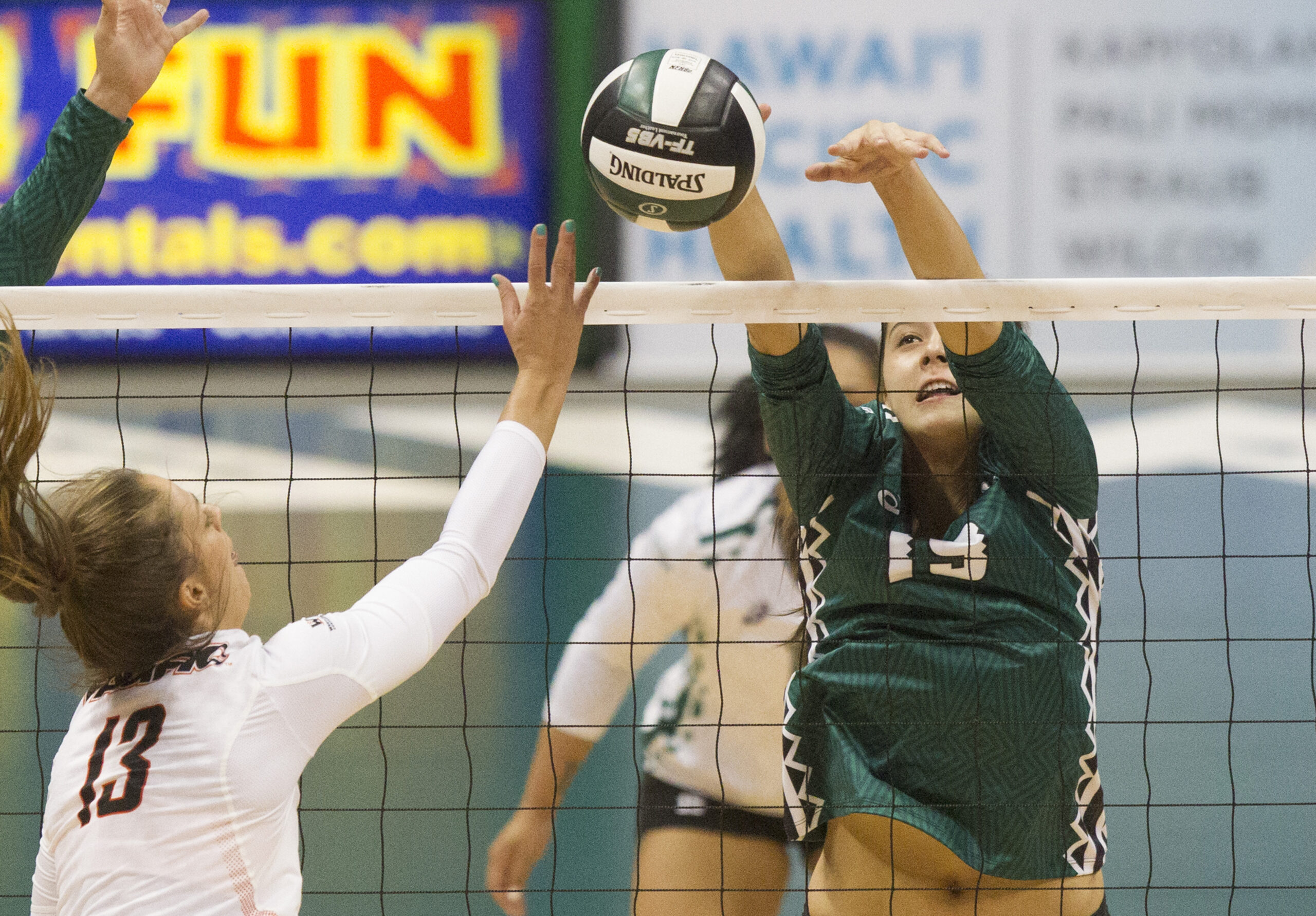 Hawaii Volleyball Vs. University Of The Pacific, Sept. 2