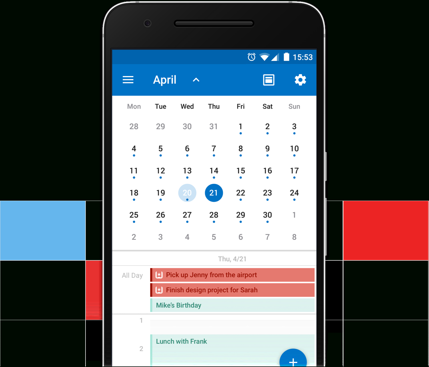 Introducing The Wunderlist Calendar App For Outlook On