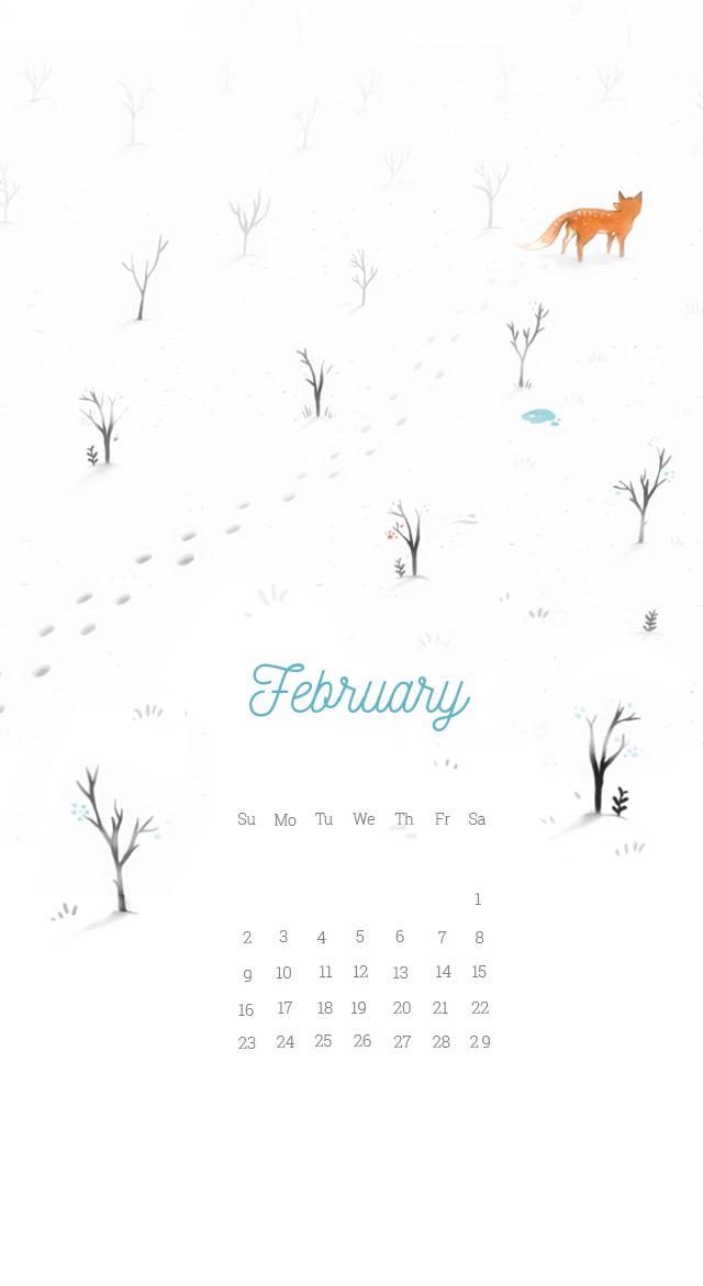 Iphone February 2020 Wallpaper Calendar | Calendar 2020