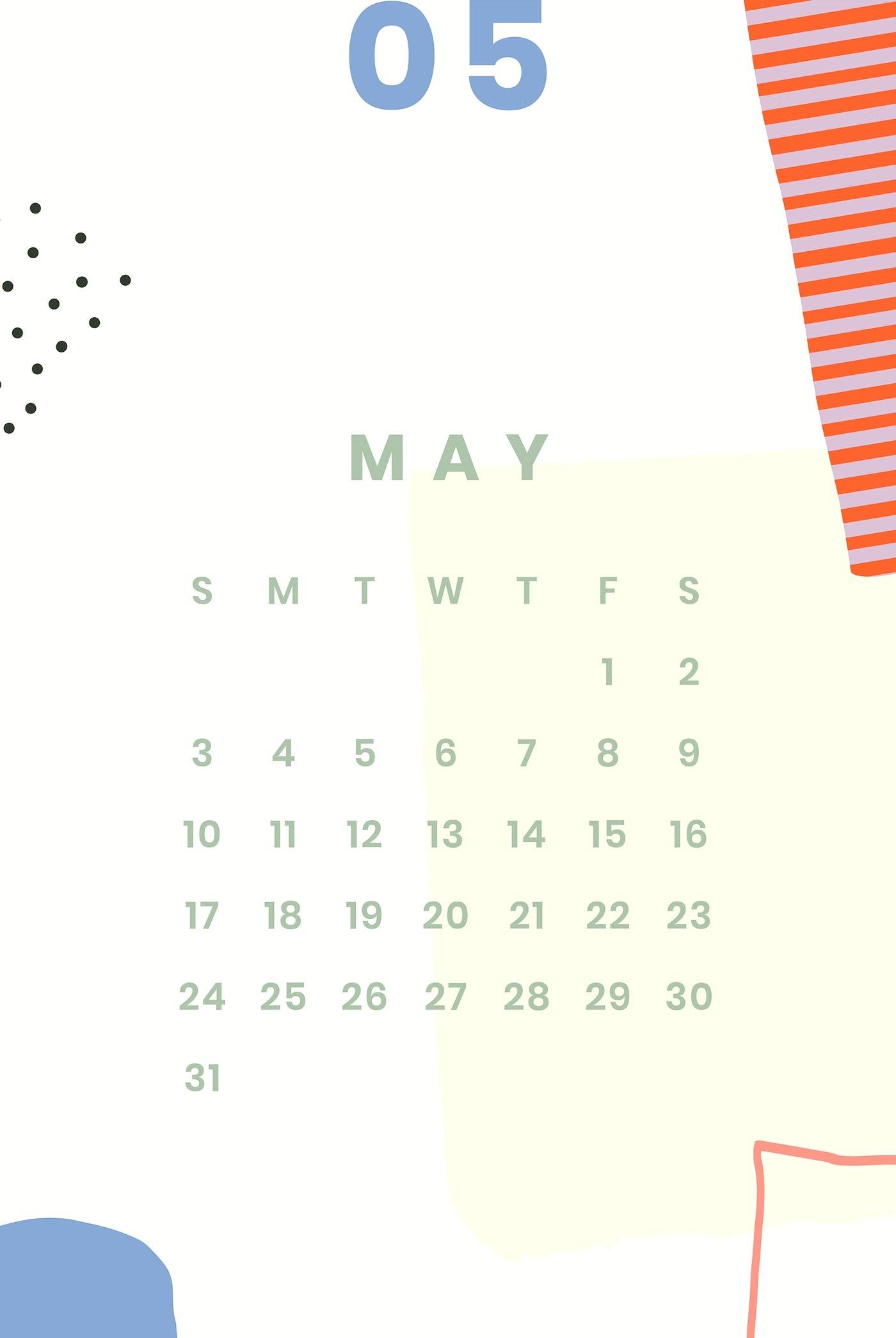 Iphone May 2020 Wallpaper Calendar | Calendar 2020