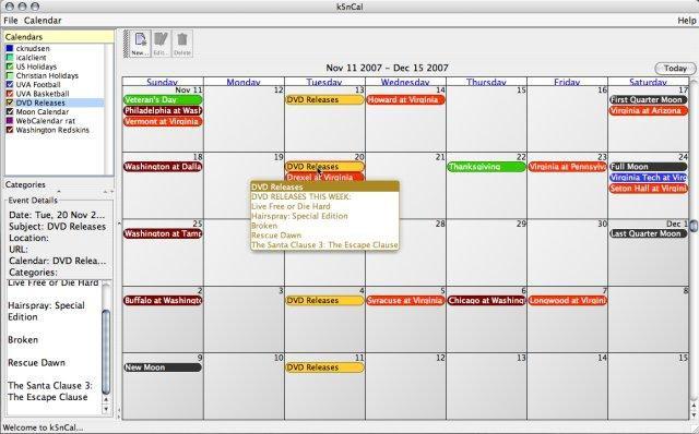 K5N Desktop Calendar | Sourceforge