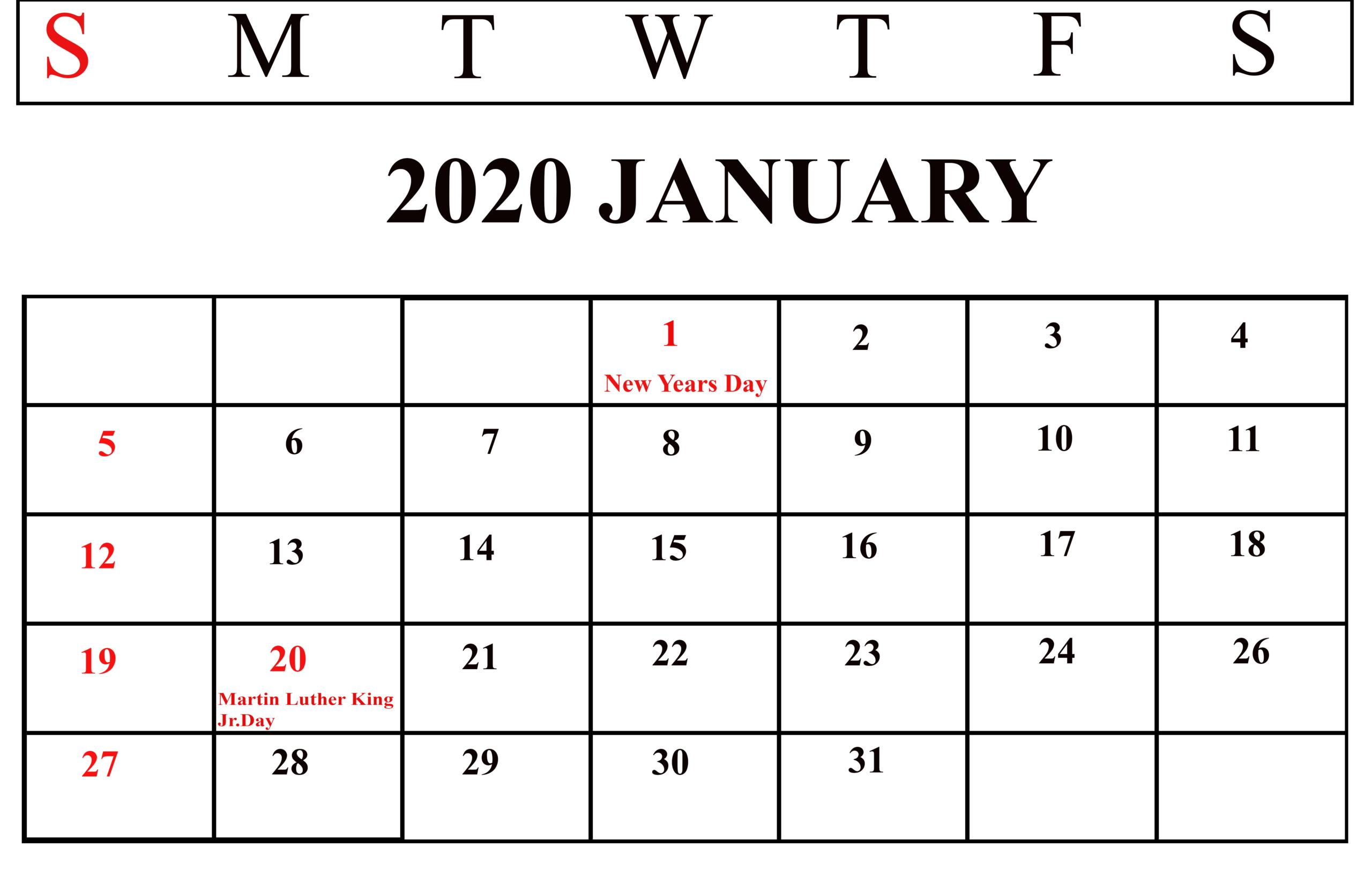 M Day Calendar 2020 | Calendar Printables Free Templates
