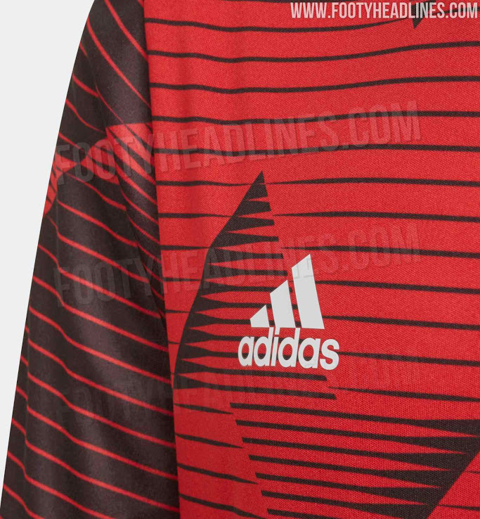 Manchester United 2020 Pre-Match Kit Leaked - Footy Headlines
