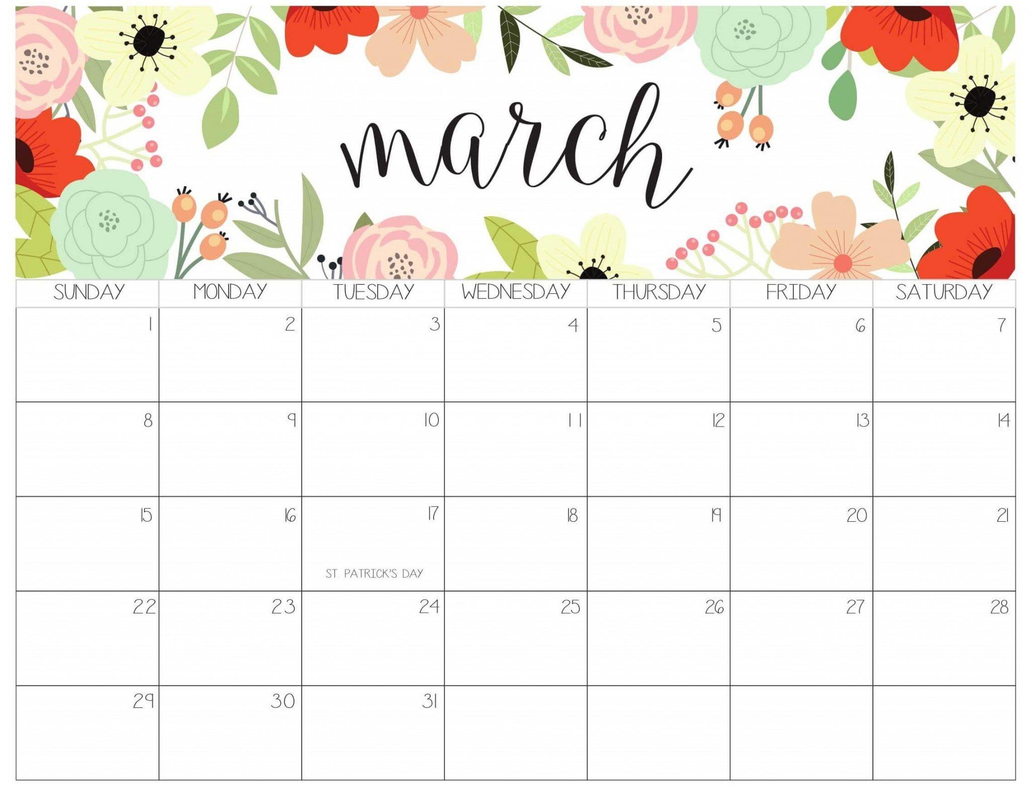 March 2020 Office Desk Calendar | Calendar 2019