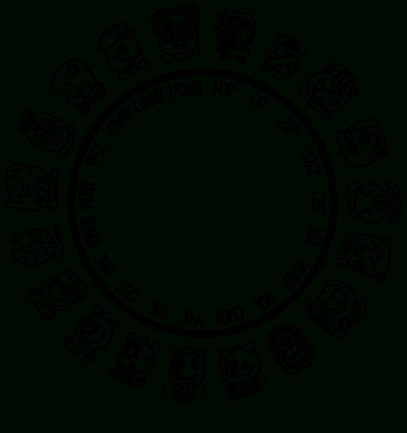 Mayan Zodiac Symbols