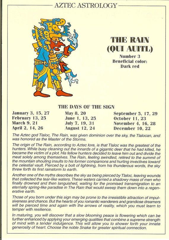 Mejores 11 Imágenes De Aztec Calendar Day Sign En