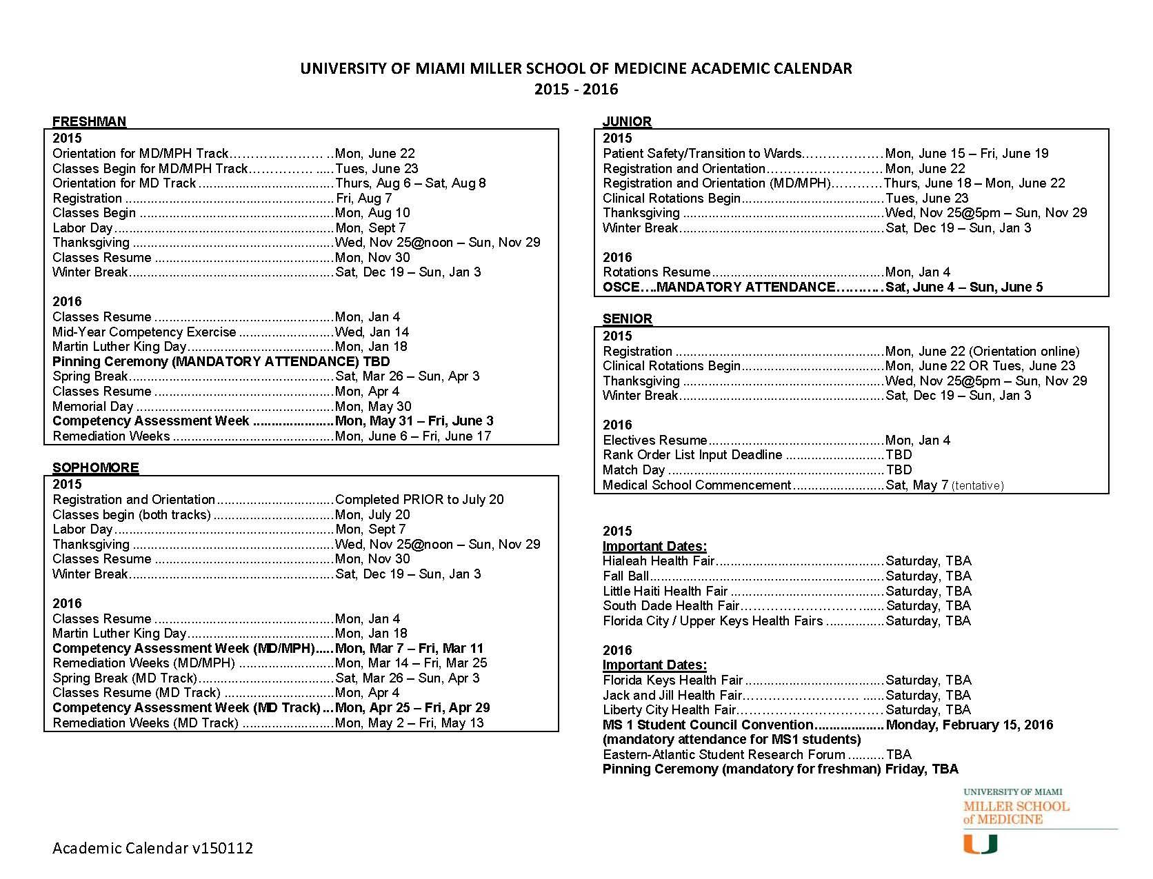 Miami Of Ohio Academic Calendar | Printable Calendar 2020-2021