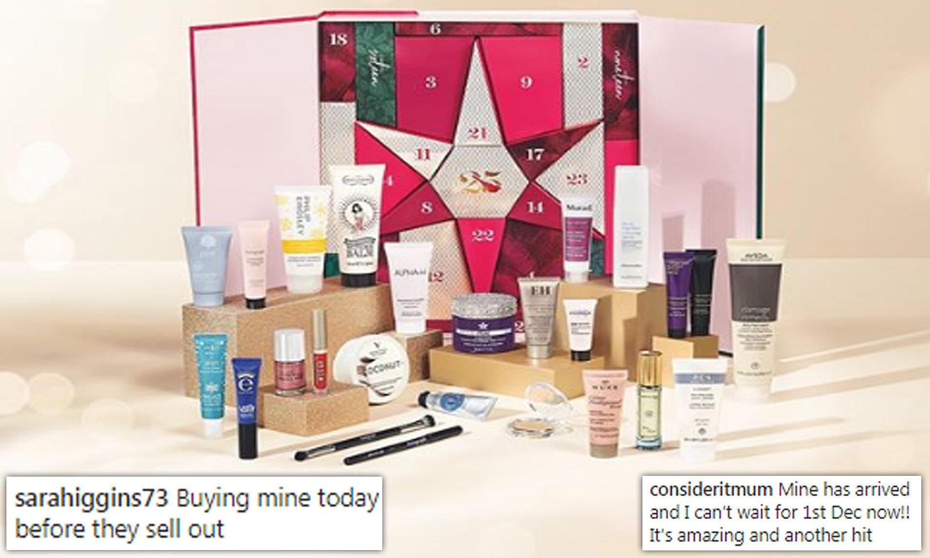 M&S Beauty Advent Calendar 2020 | Calendar Printables Free