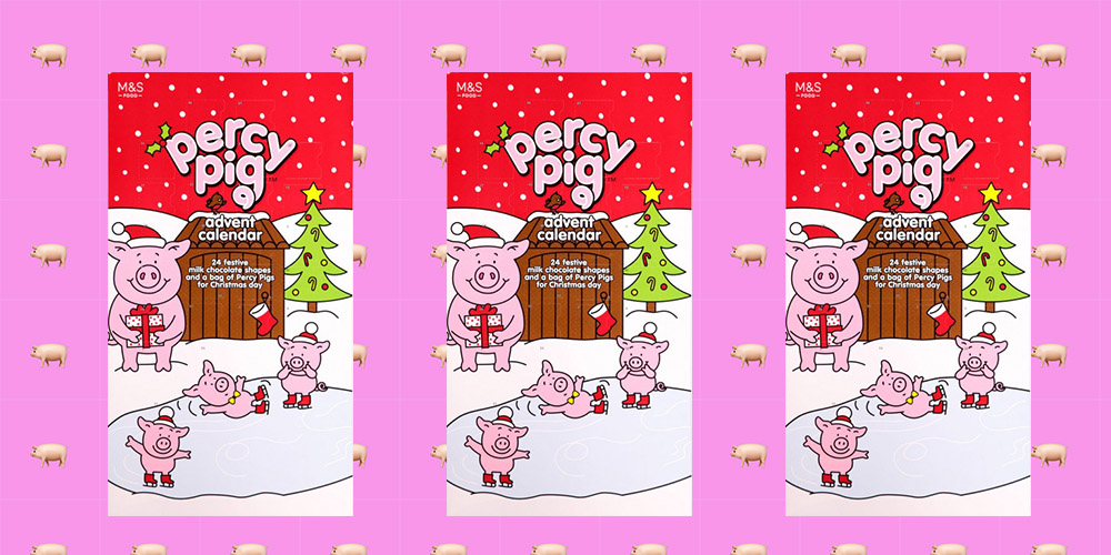 M&S Releases Percy Pig Advent Calendar With Chocolate And