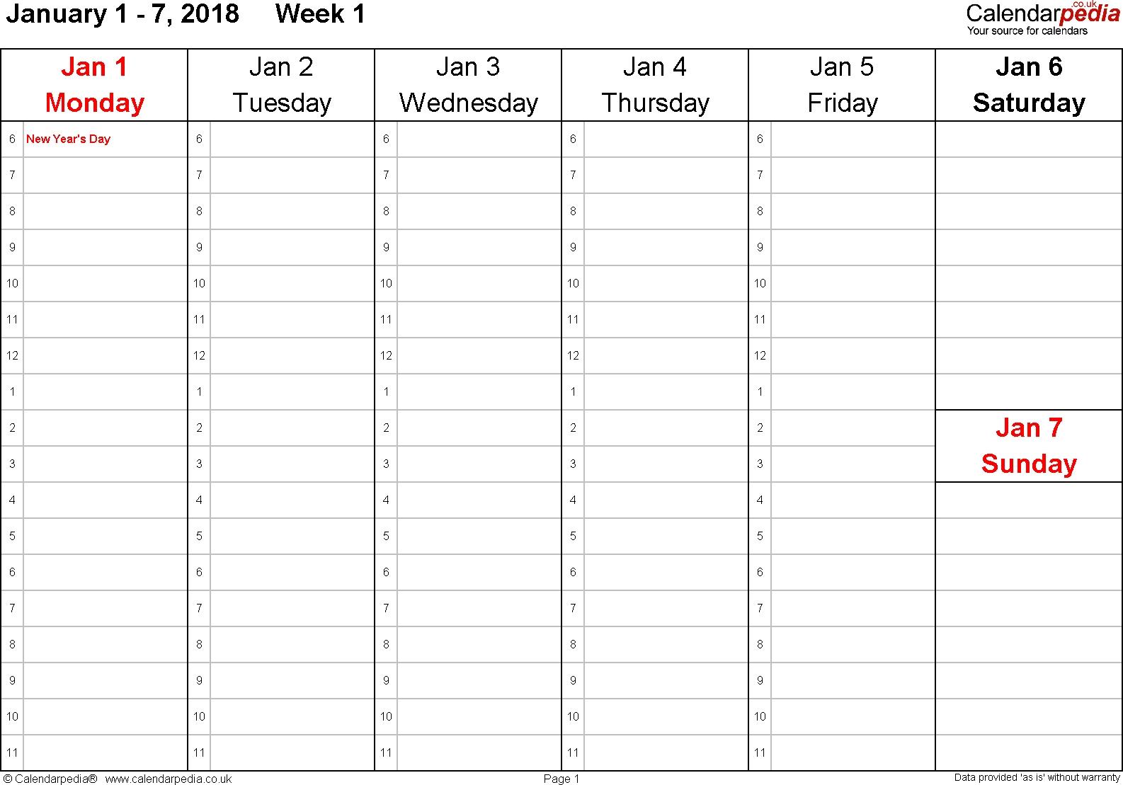Next 3 Weeks Calendar | Ten Free Printable Calendar 2020-2021