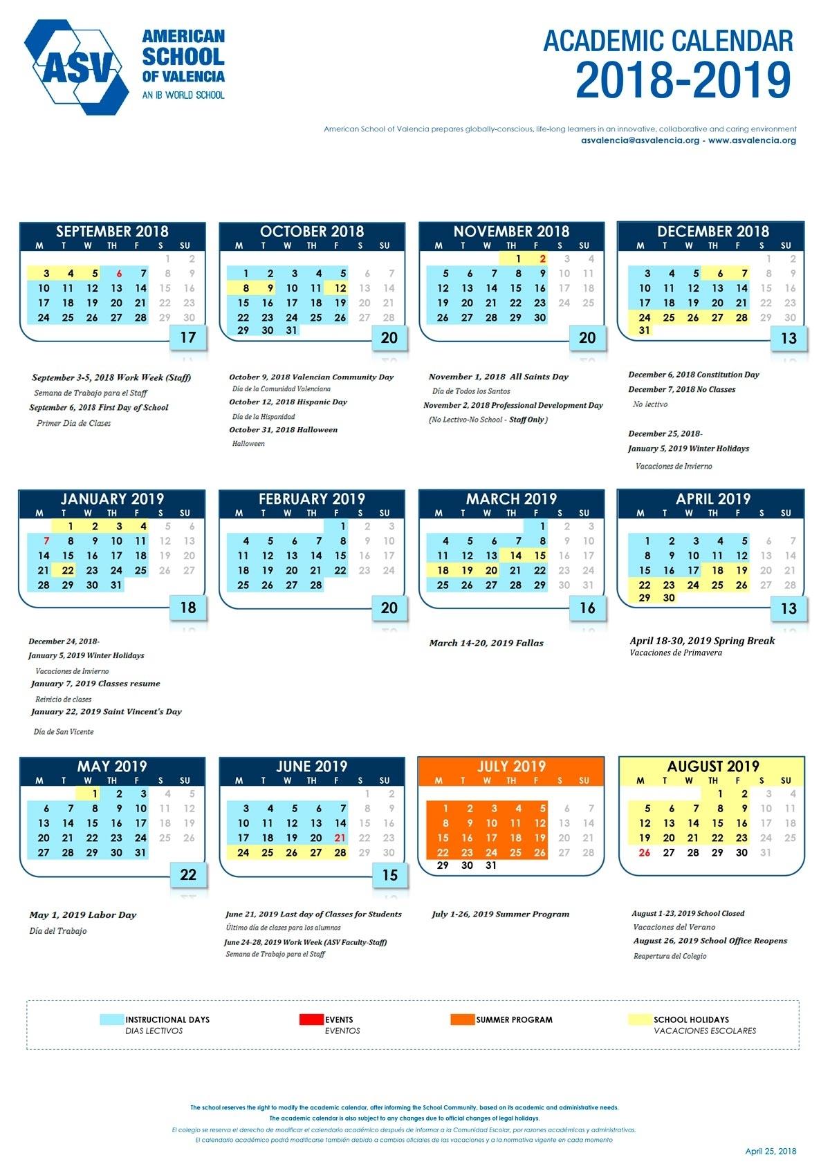 Nus 2019/2020 Academic Calendar - Calendar Inspiration Design