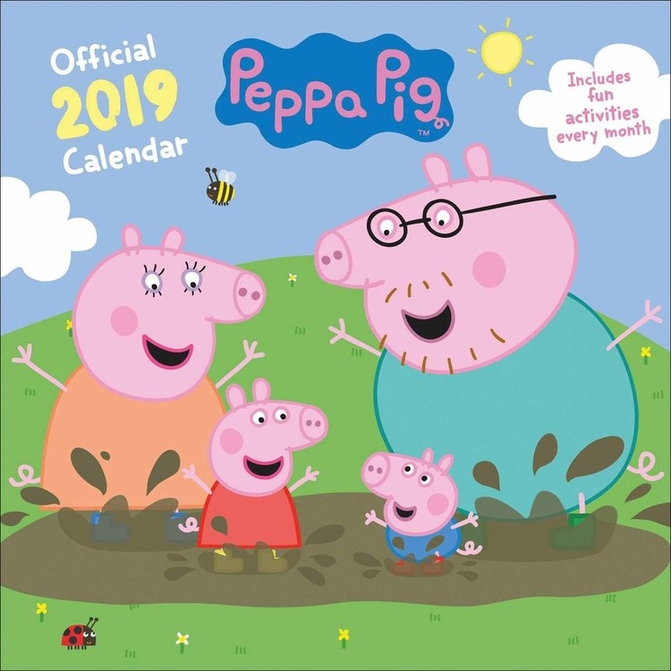 Peppa Pig - Calendars 2021 On Ukposters/Europosters