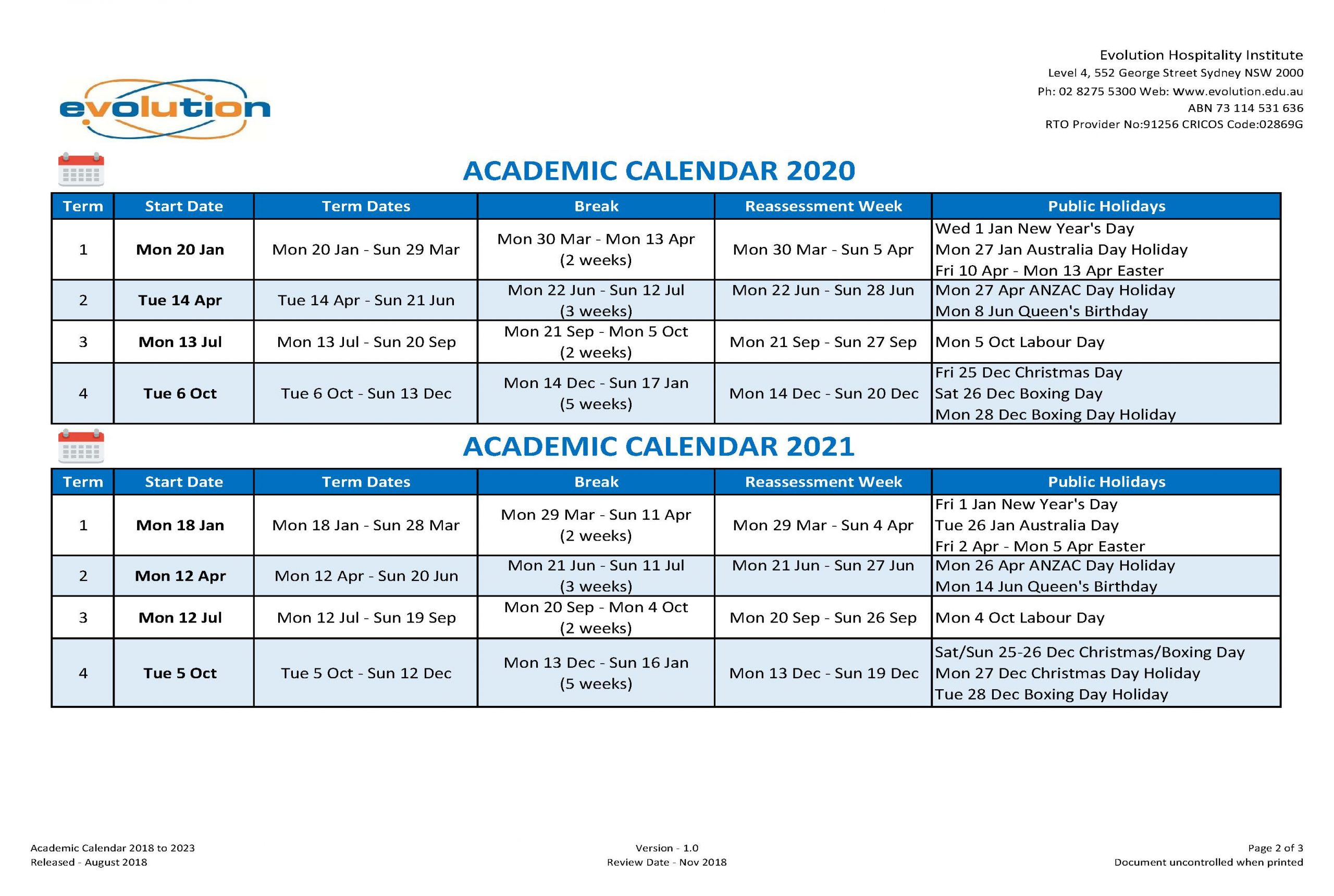 Pick 2020 Queensland State School Calendar | Calendar