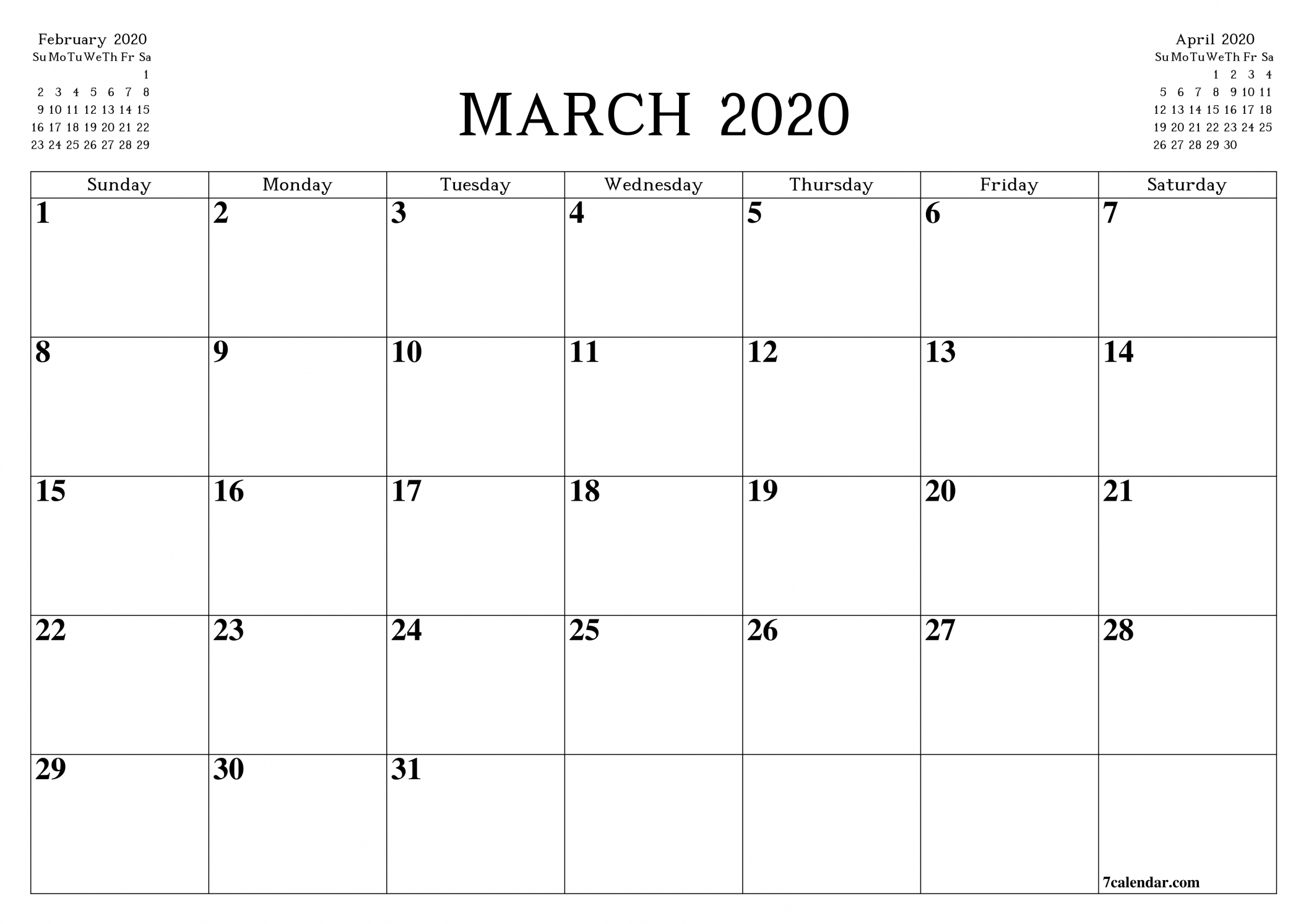 Pick Legal Size Printable Calendar 2020 | Calendar