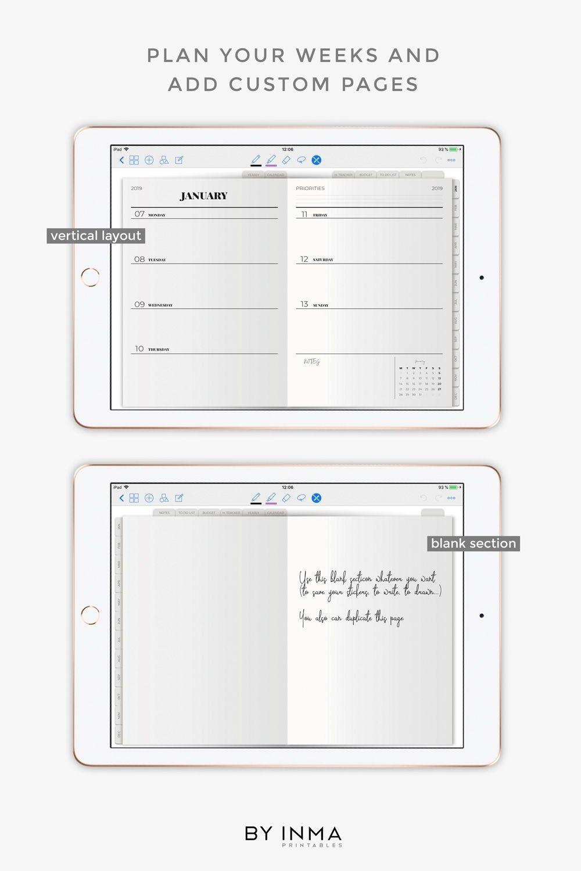 Print Calendar Ipad Pro | Month Calendar Printable