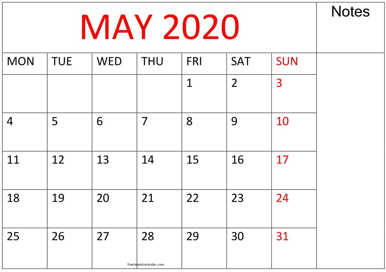 Print Large Calendar 2020 | Calendar Printables Free Templates