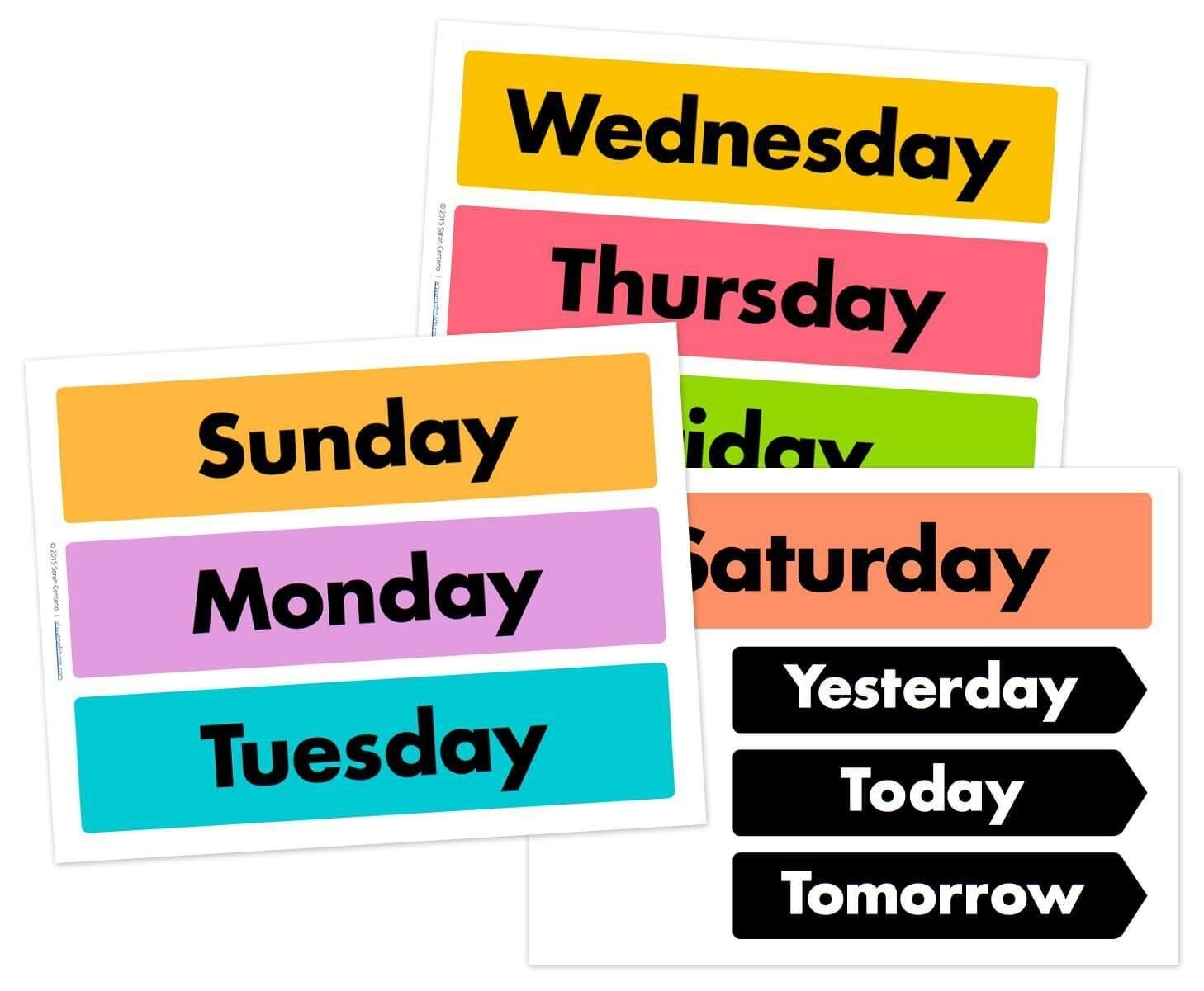 Printable Calendar Days Of The Week | Month Calendar Printable