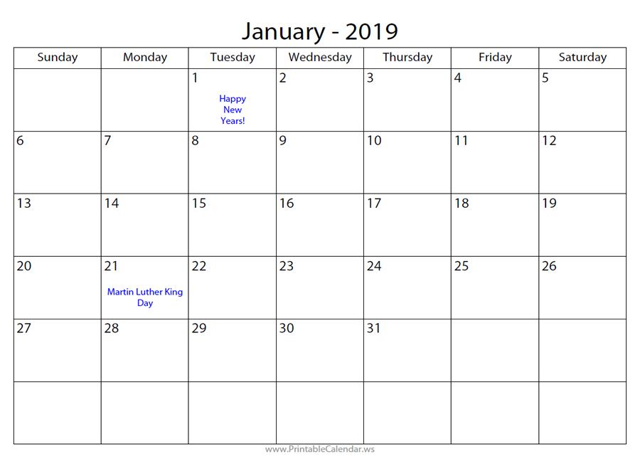Printable Calendar - Free Calendar Maker