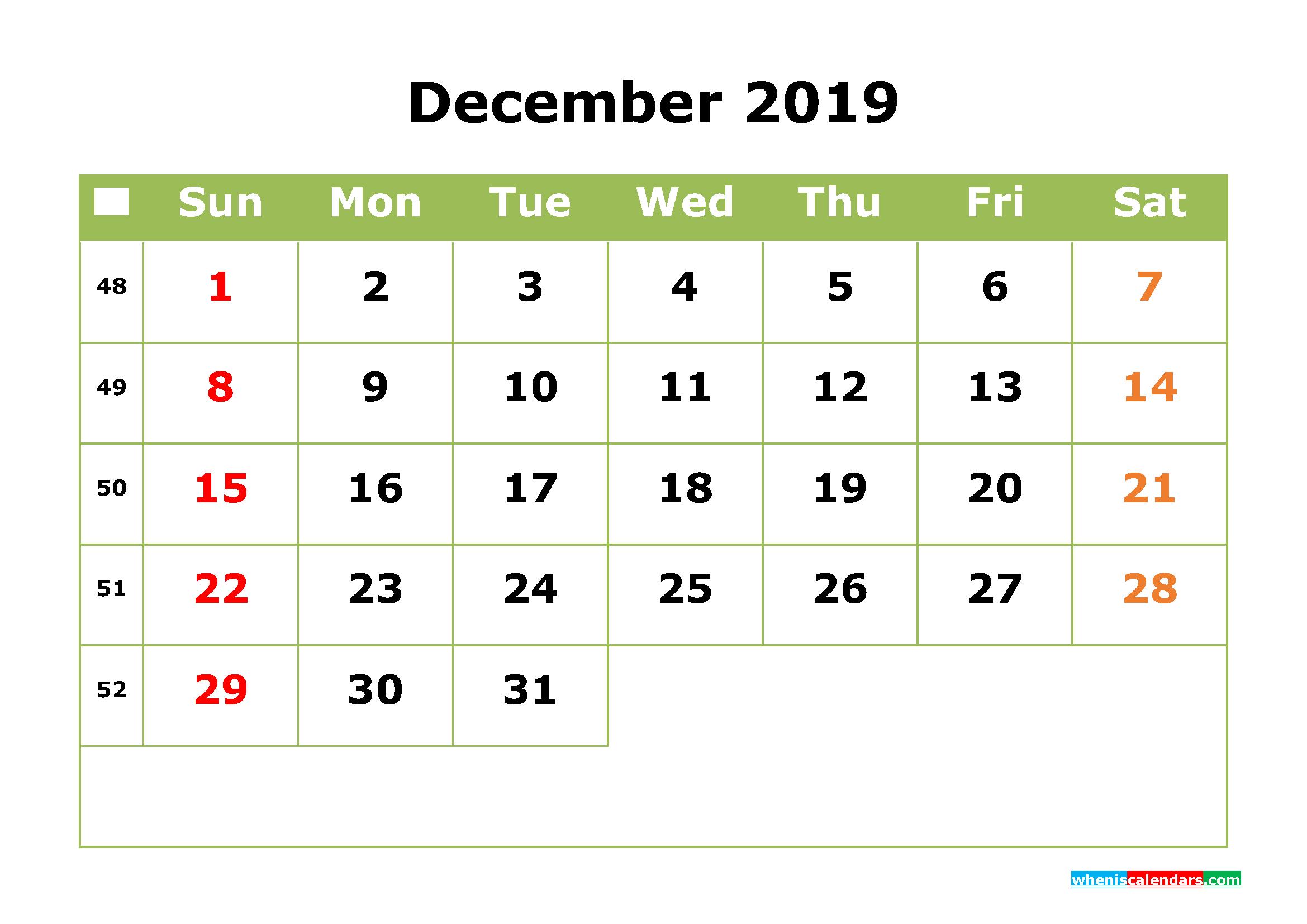 Printable Calendar | Page 29 Of 48 | Free Printable 2020