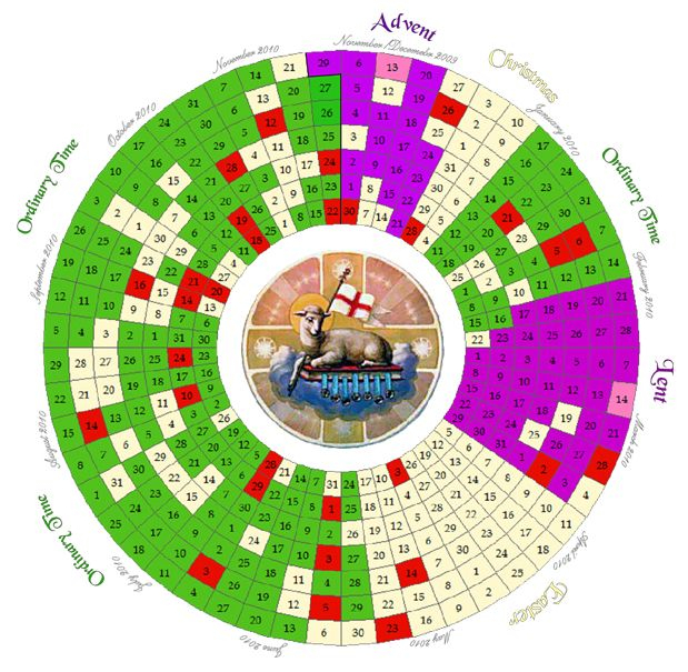 Printable Liturgical Calendar | Search Results | New