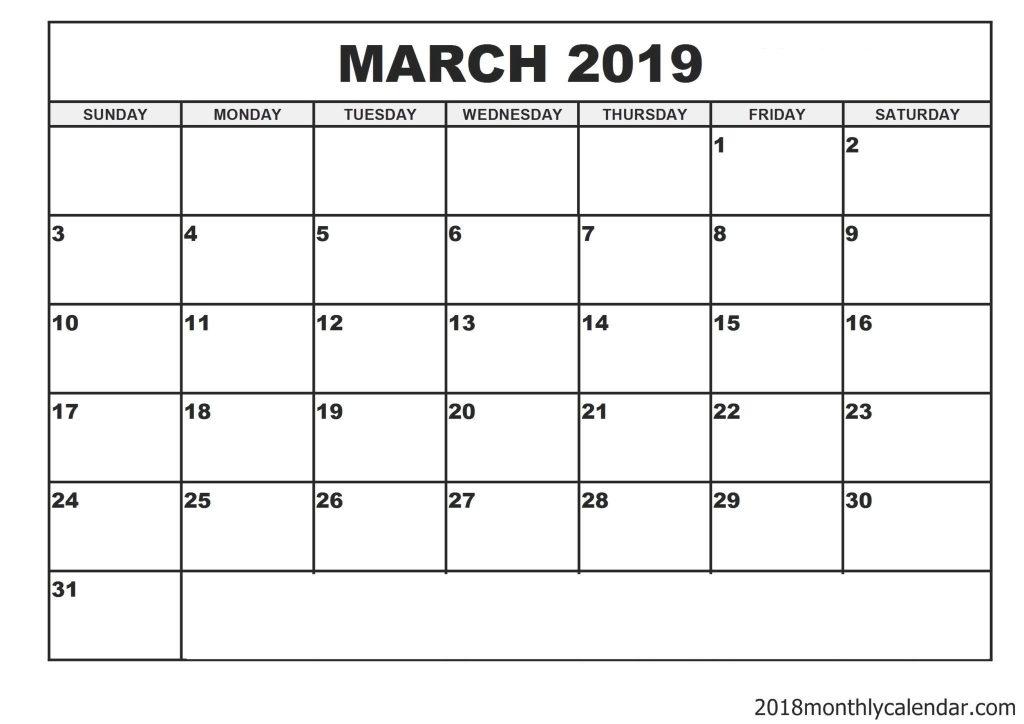 Printable Writable Calendar | Calendar Image 2020