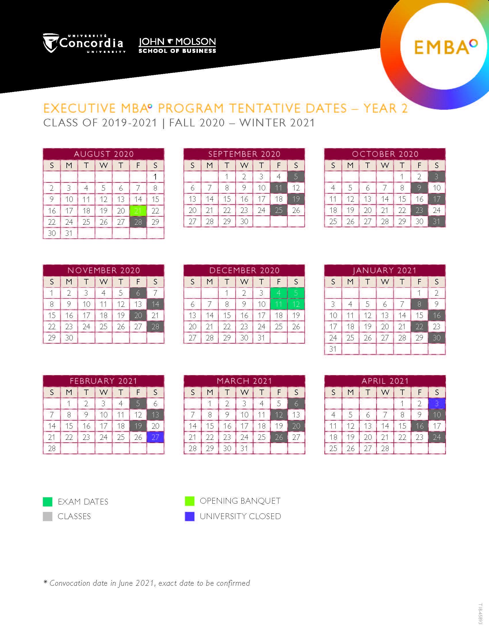 Qc 2020 Calendar – Calendar Printable Free