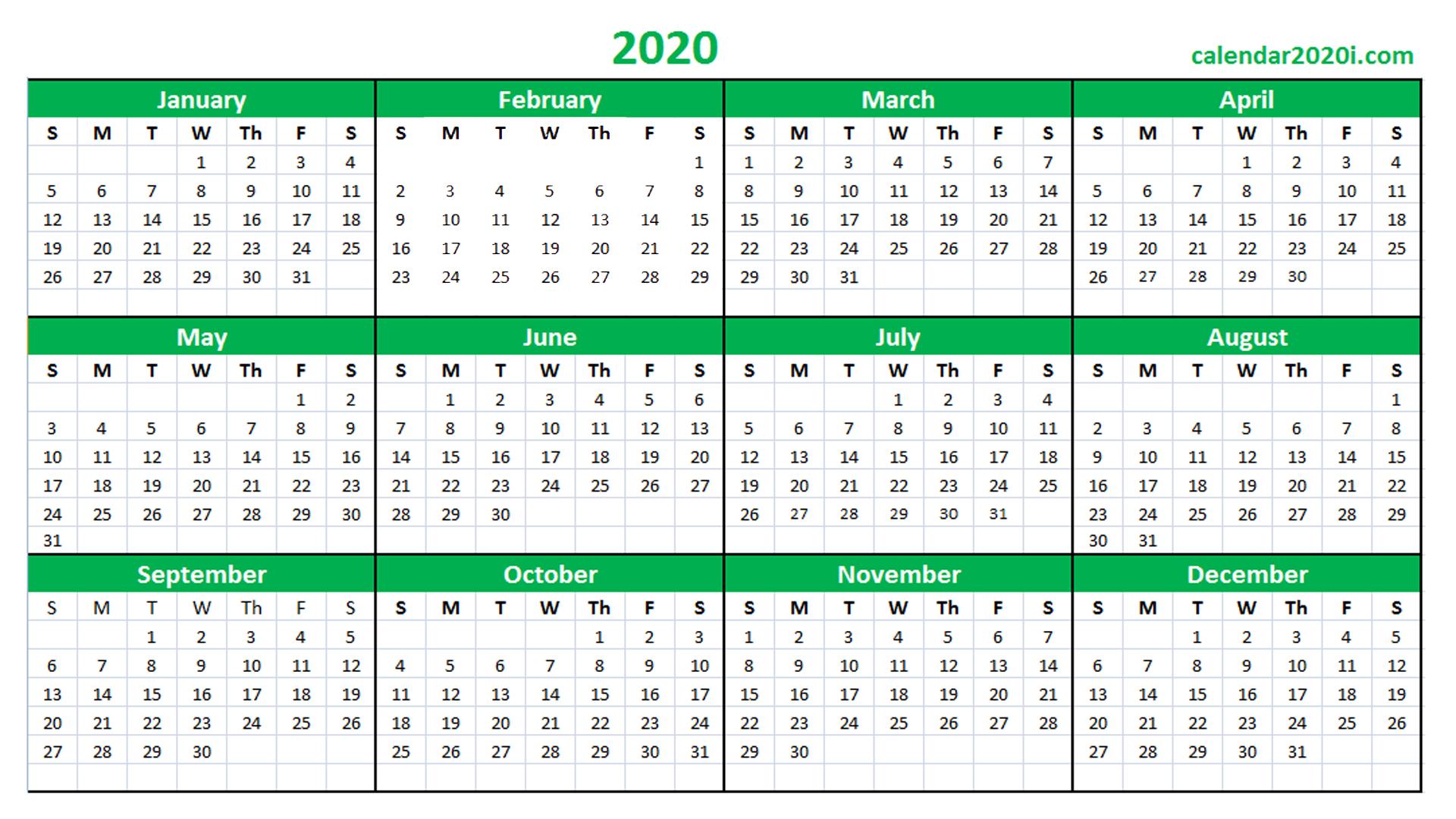 Qld School Calendar 2020 Printable | Calendar Template