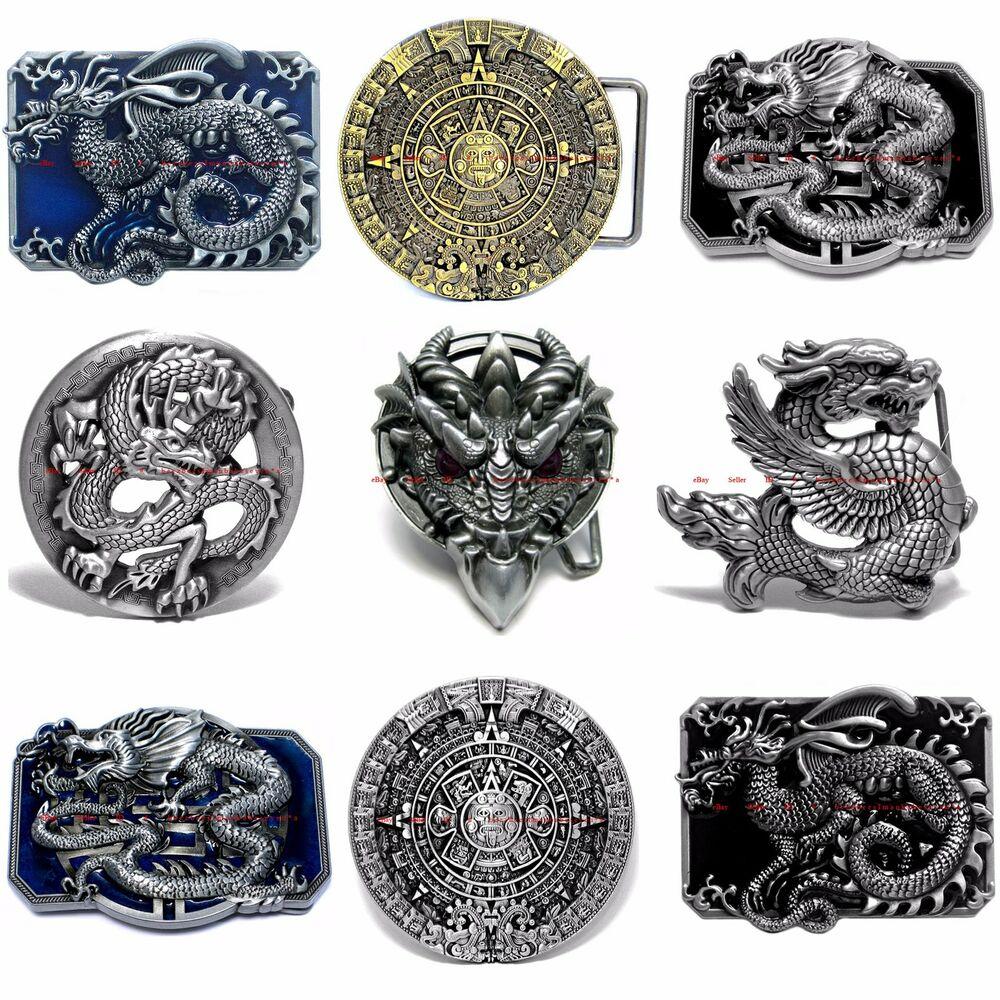 Sbum0319 Imperial Chinese Zodiac Dragon / Aztec Calendar