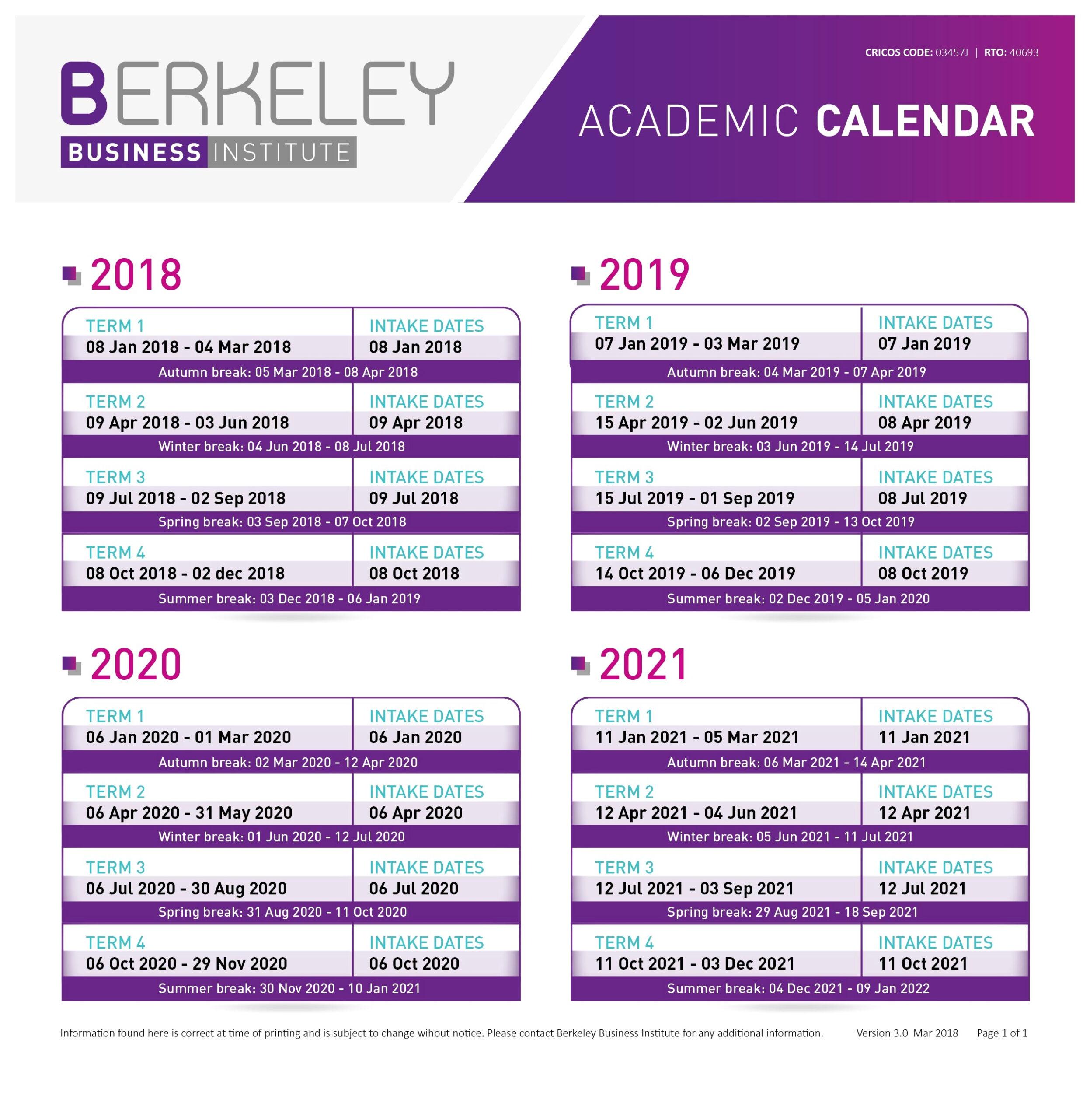 Uc Berkeley Academic Calendar 2019-2020 | Calendar