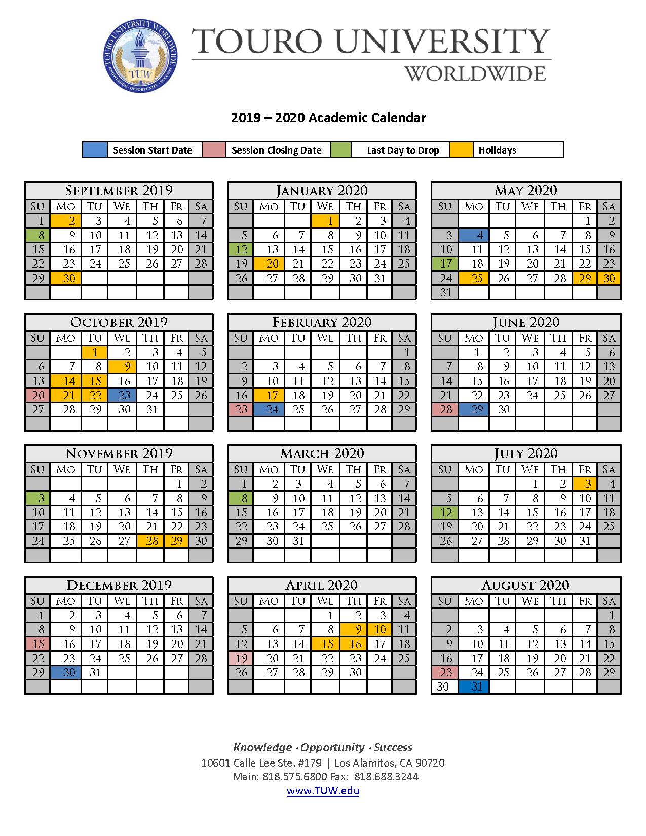 Uf Summer C Schedule 2020