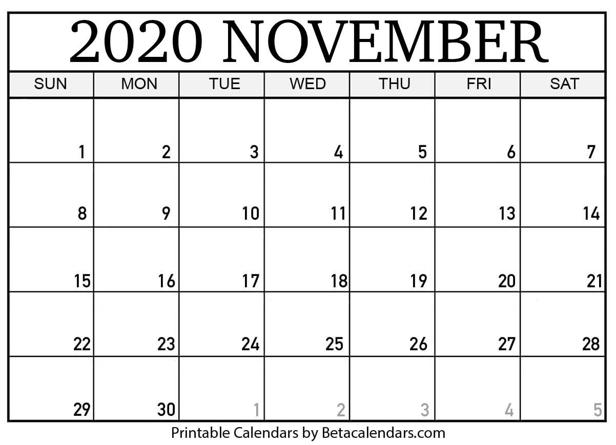 What Number Is 5Th November 2020 In The Years Calender