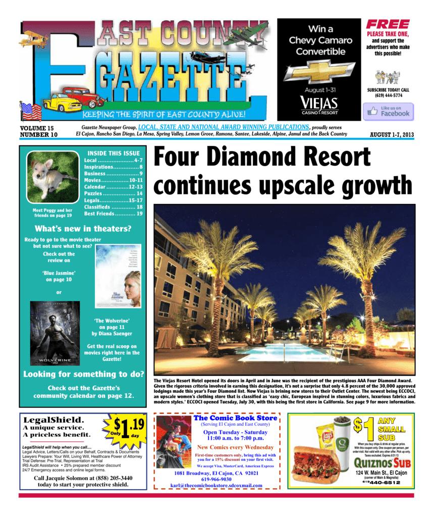 1 - East County Gazette